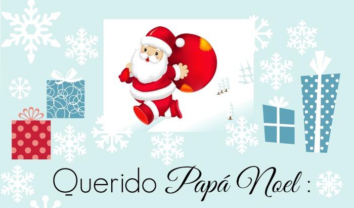 Carta para Papá Noel lista para imprimir