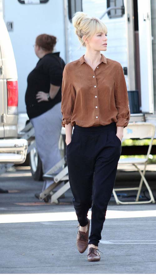 Mix of Styles: Kate Bosworth Street Style