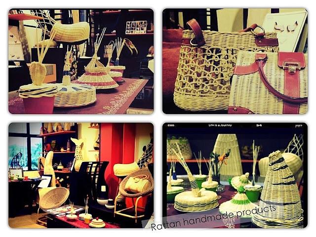Handmade rattan products