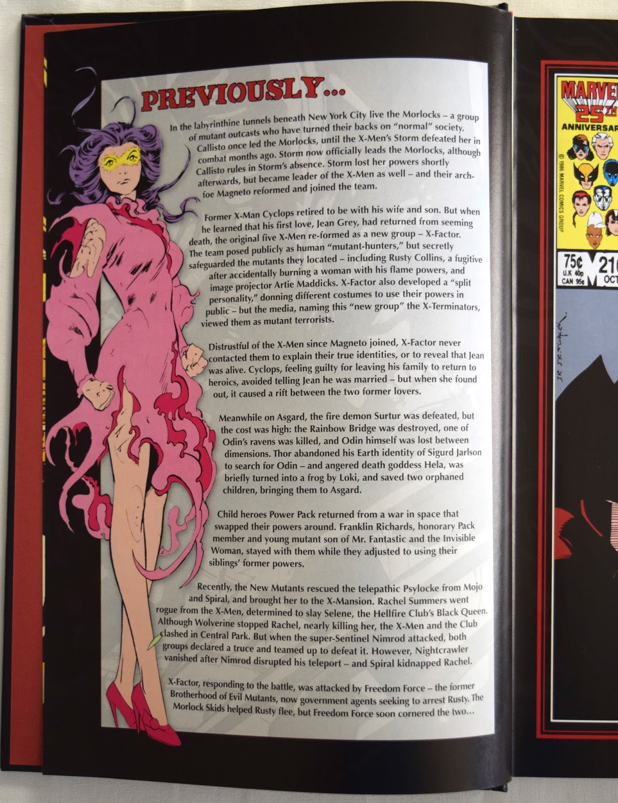 There Are A Decent Eight Pages Of Bonus Material Here Including House Ad By Walter Simonson In Two Different Formats And Design Sketches For The