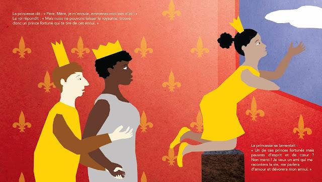 illustration princesse les belles histoires