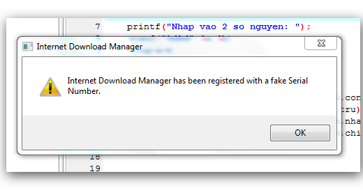 internet download manager with no serial number