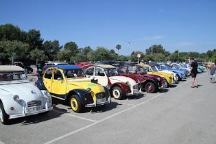IX-Concentración Club 2cv y derivados Mallorca Junio 18