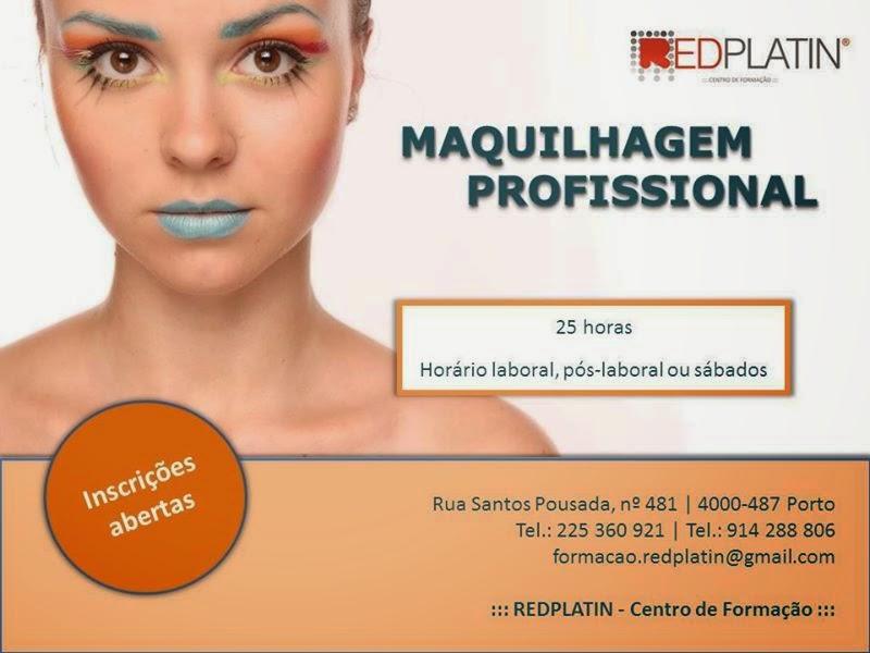 curso de maquilhagem Porto 2015