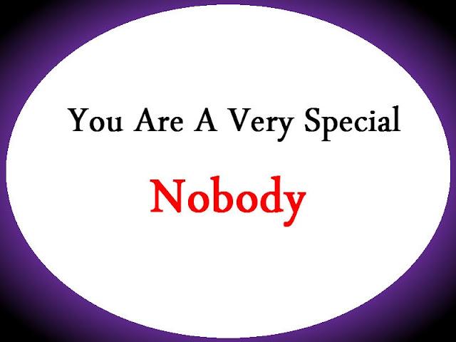 nobody, somebody, advaita