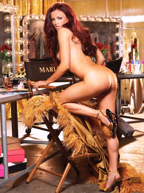 Maria from wwe naked in playboy