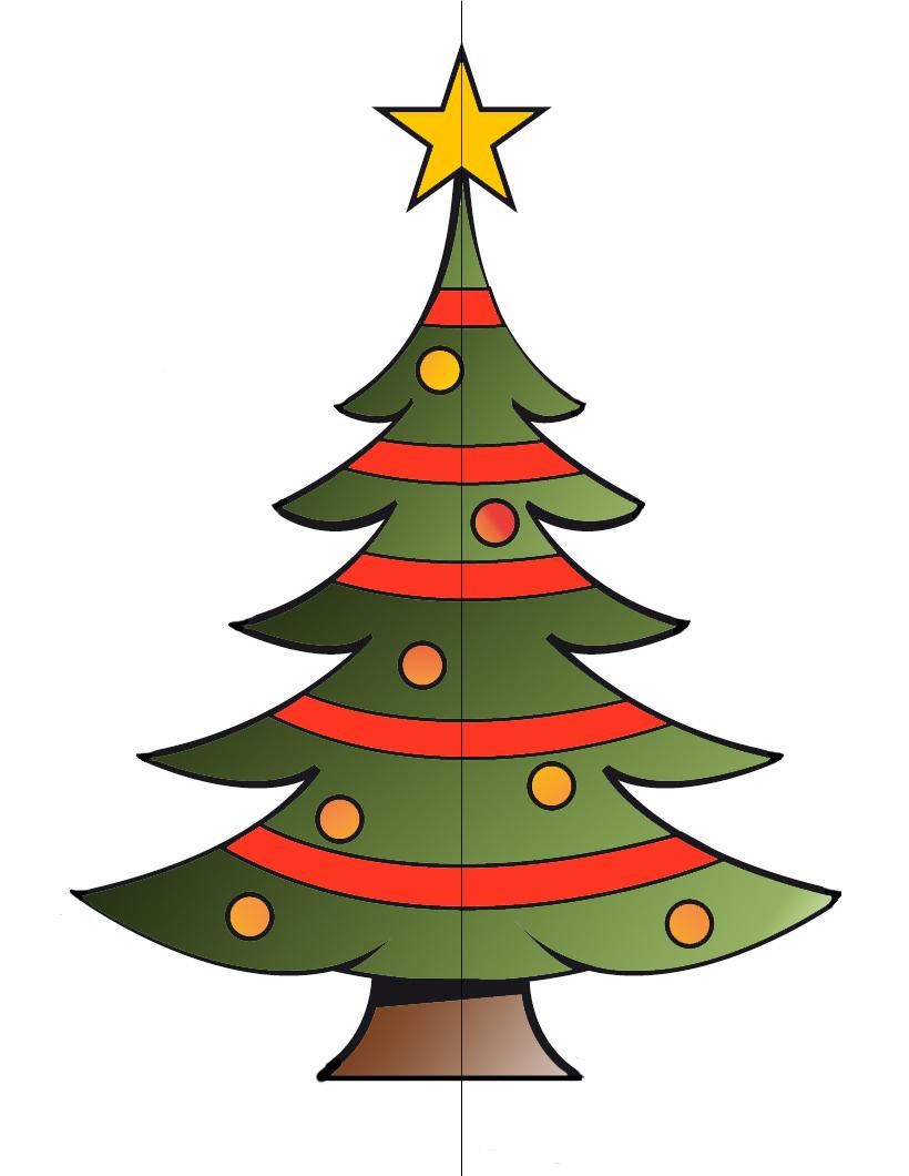 Dibujos fondos de escritorio imagenes dibujo de rbol - Plantilla estrella navidad ...