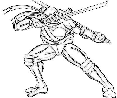 Lego ninjago coloring pages printable free for Leonardo teenage mutant ninja turtles coloring pages