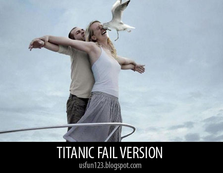 Titanic fail pictures funny
