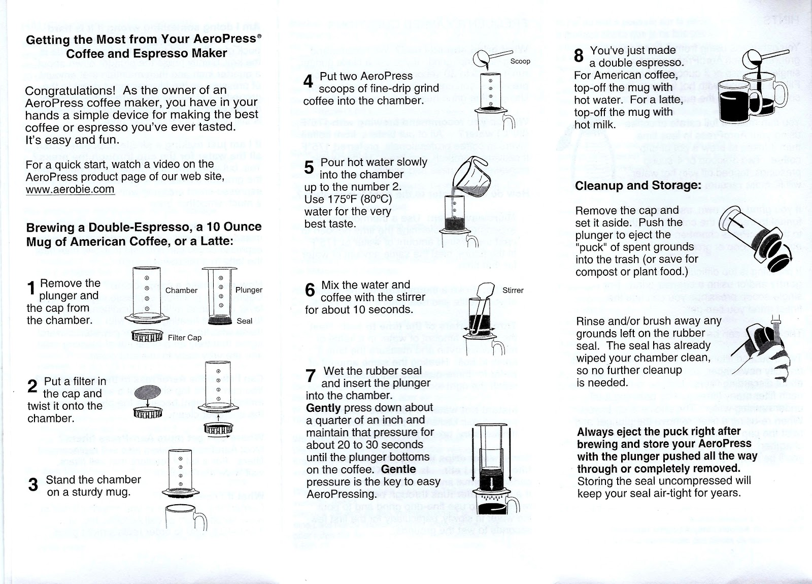 Coffee Channel Reviews And How Tos Step By Step Aeropress