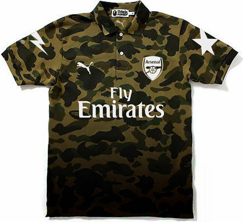 Arsenal france and new york red bulls concept kits by mbroidered