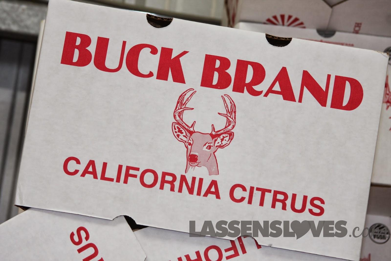 buck+brands, organic+citrus