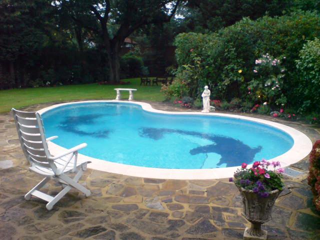 desain kolam renang rumah yang elegan