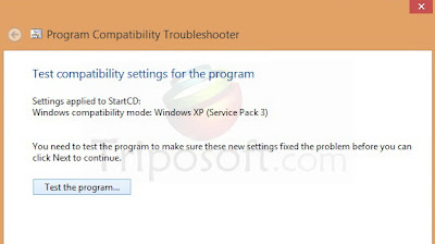 By this way you can able to run any kind of softwares in Windows 8 ...