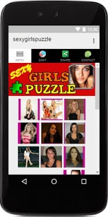 Screenshots of the Sexys Girls Puzzle for Android tablet, phone.