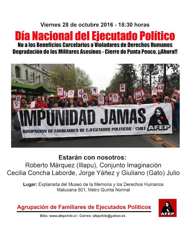 SANTIAGO: DÍA NACIONAL DEL EJECUTADO POLITICO