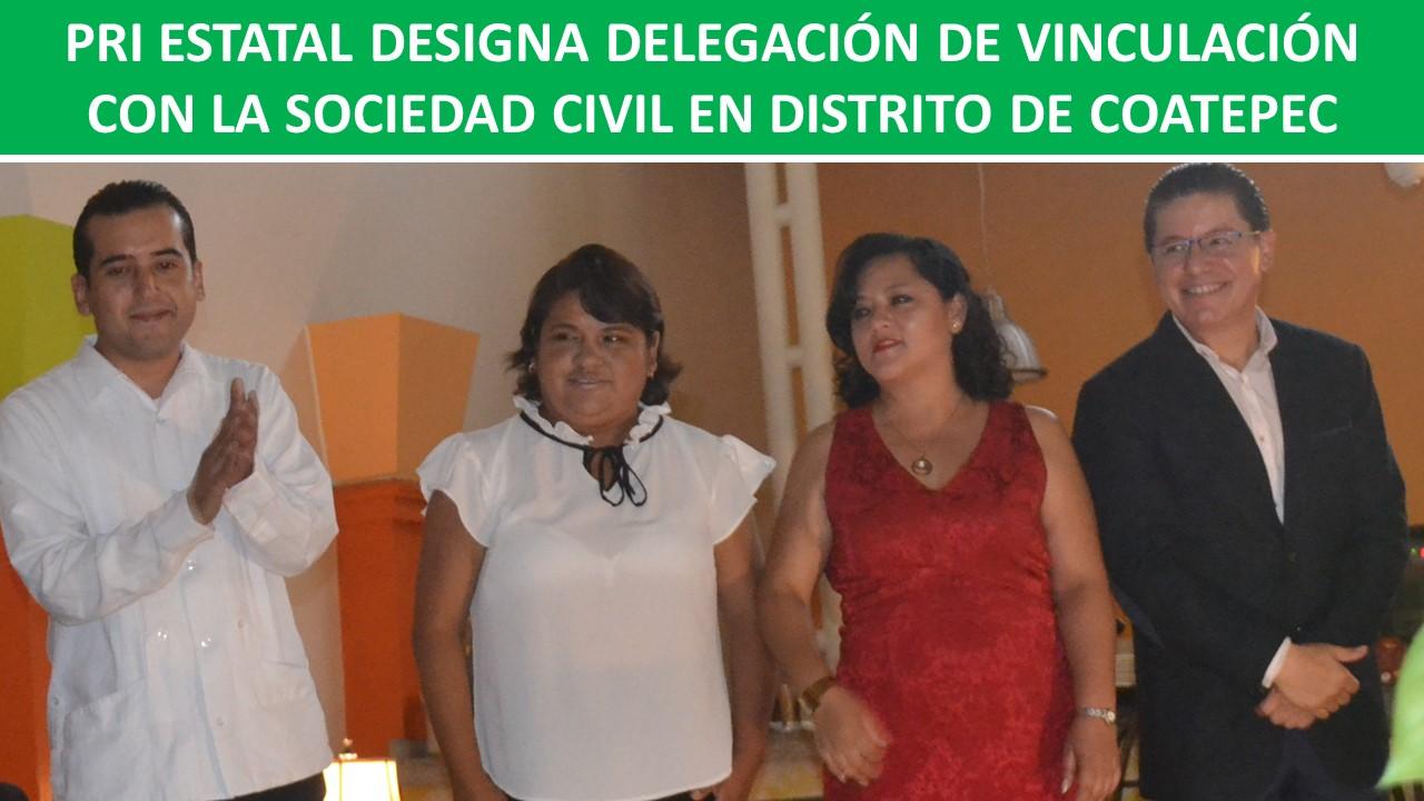 VINCULACIÓN CON LA SOCIEDAD CIVIL EN DISTRITO DE COATEPEC