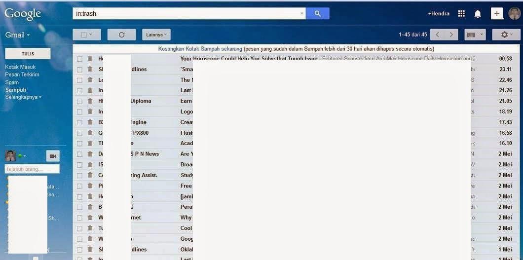 Cara Blokir Email di Gmail
