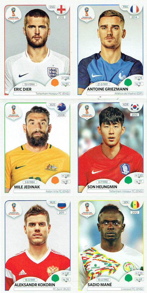Felipe Baloy Sticker 542 Panama Panini WM 2018 World Cup Russia