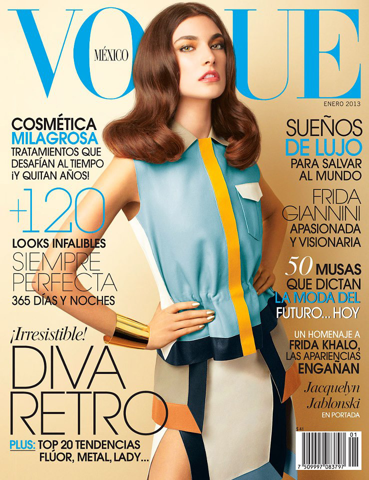 Jacquelyn Jablonski For Vogue Mexico January 2013