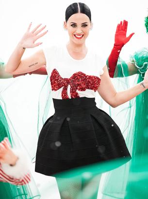 H&M Katy Perry anuncio spot Navidad 2015