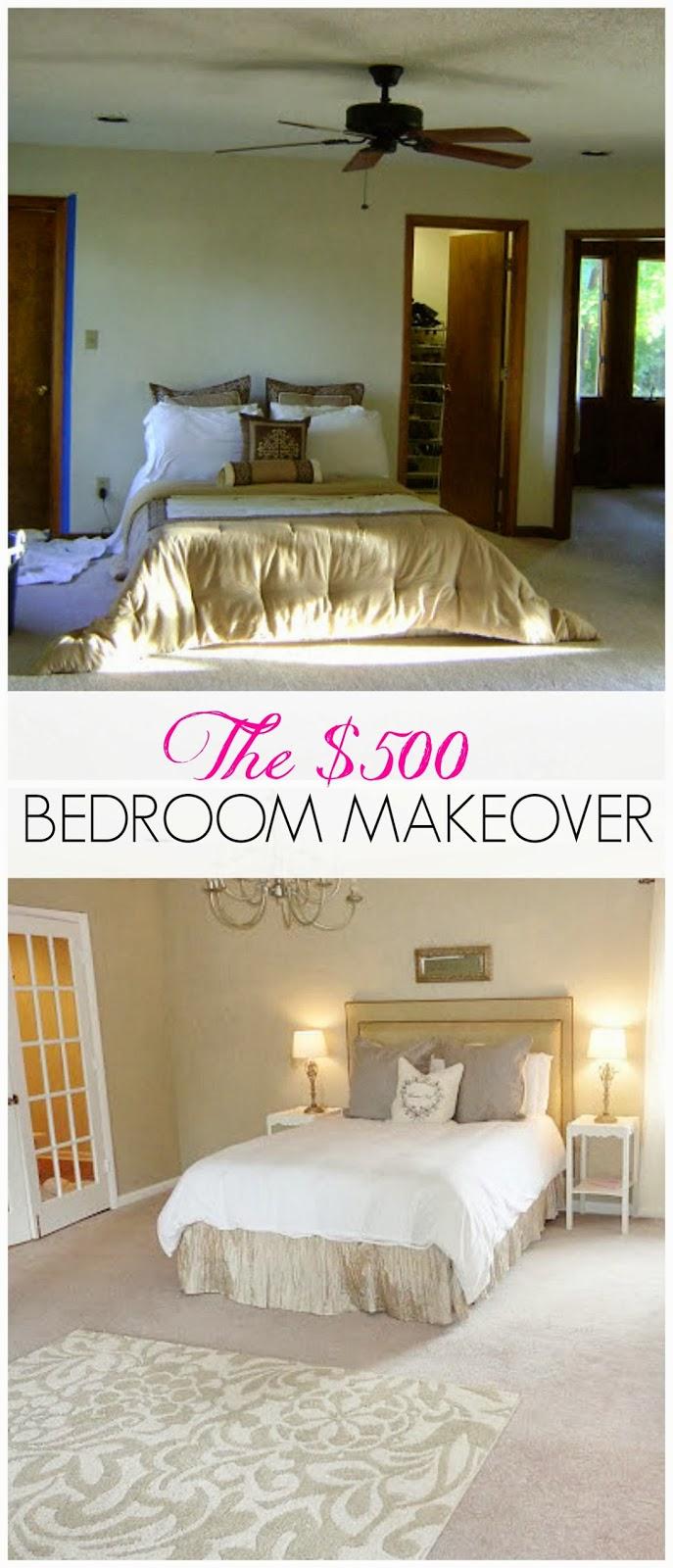 LiveLoveDIY Master Bedroom Makeover Our Renovation Before After
