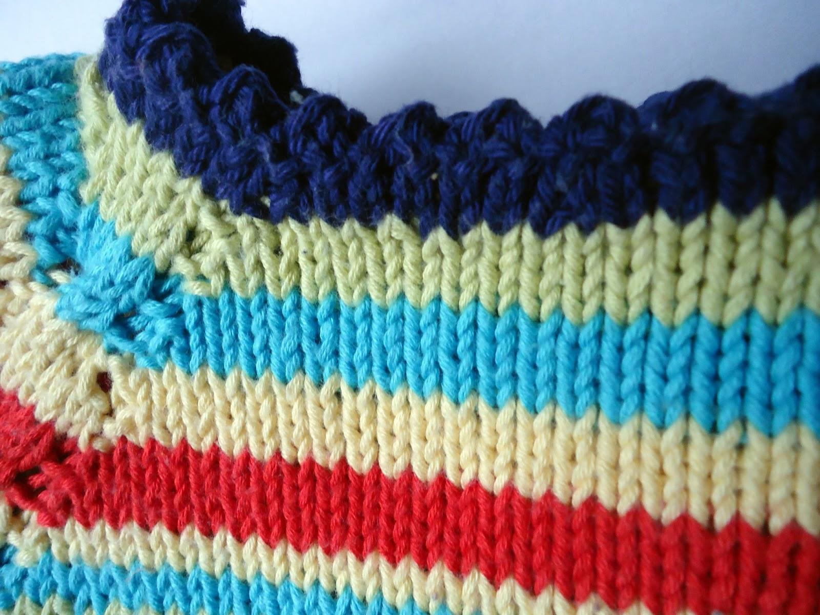 tricoter 3 rangs