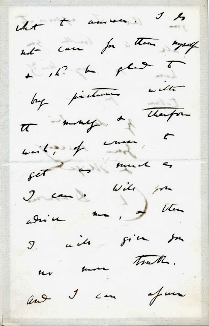 Letter from Charles Darwin to Trenham Reeks (Page 2 of 3)