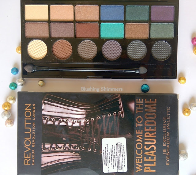 Makeup Revolution London 'Welcome To The Pleasuredome' Eyeshadow Palette