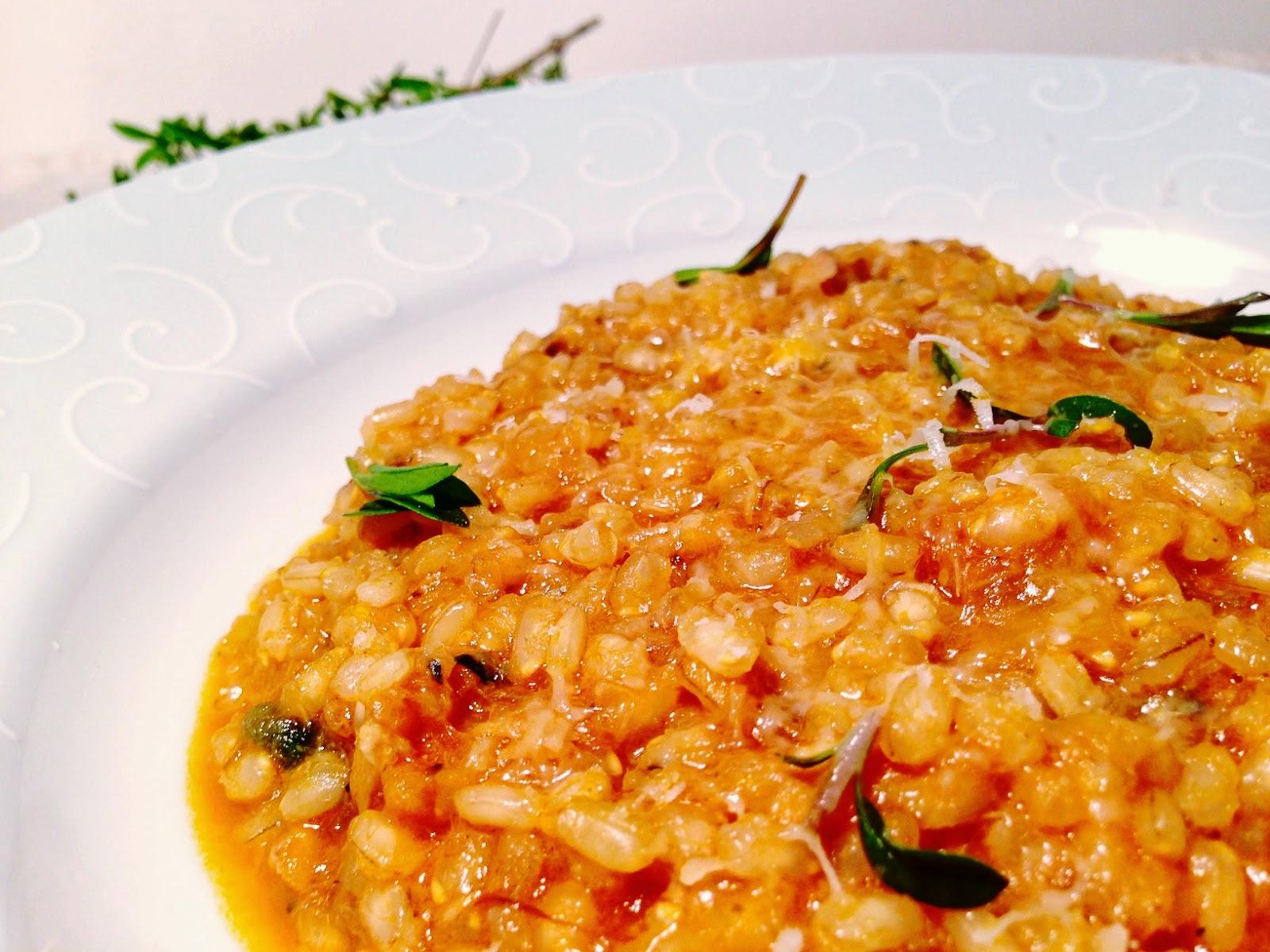 O caldeir o de dagda risotto de peixe com arroz integral - Risotto arroz integral ...