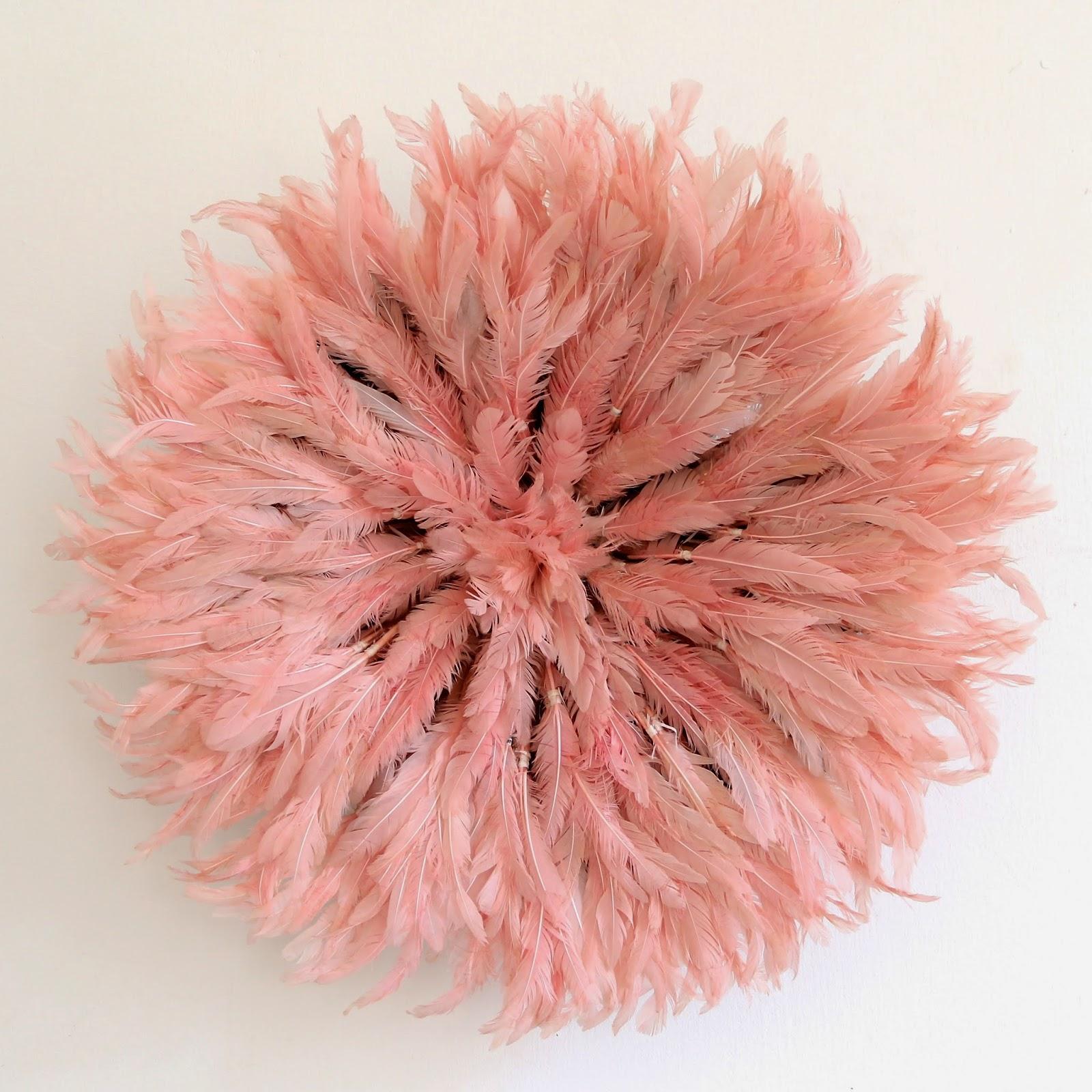 Pale pink juju hat