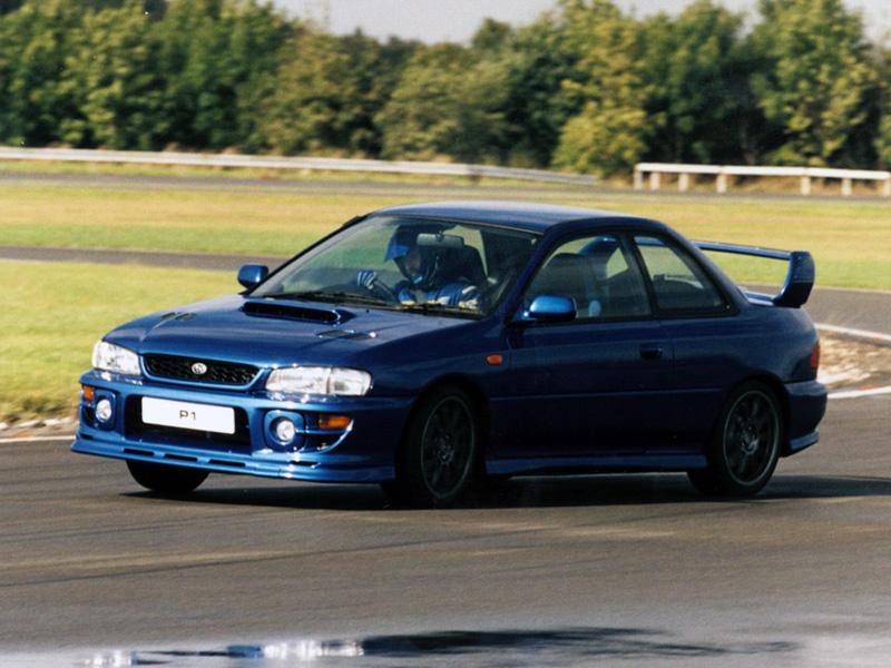 Subaru Impreza I, 1st, 1-gen, zdjęcia, japoński sportowy samochód, kultowy, 日本車, スポーツカー, スバル, edition version P1 Prodrive One