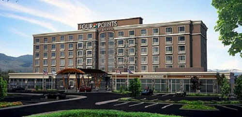 Four Points Kelowna plan