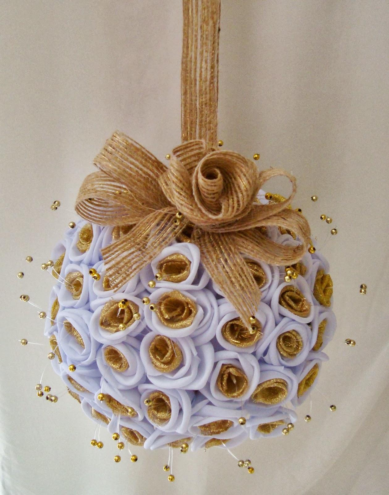 decoracao casamento juta : decoracao casamento juta: Lembrancinhas: Bola de Flor para Daminha e decoração de casamento
