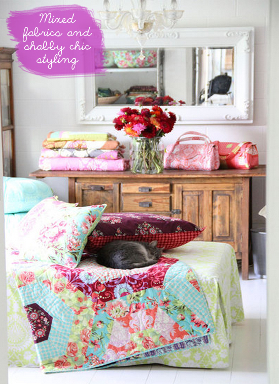amy butler house, amy butler's home, fabric designer house, home style, interior design'border=