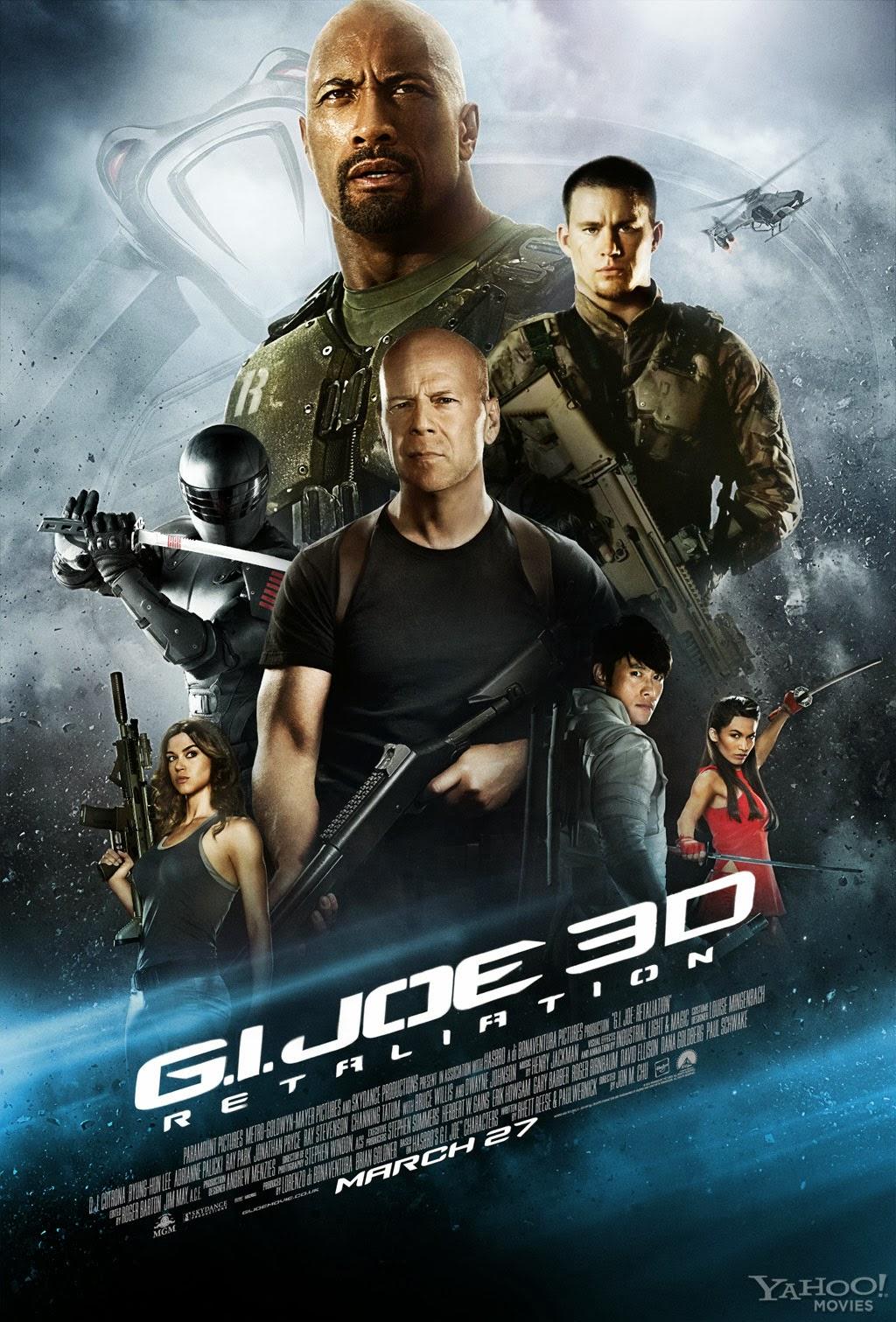 Afiche de G.I.Joe: La Venganza