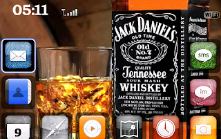 Jack+Daniels Jack Daniels for BlackBerry Bold 9000 Themes