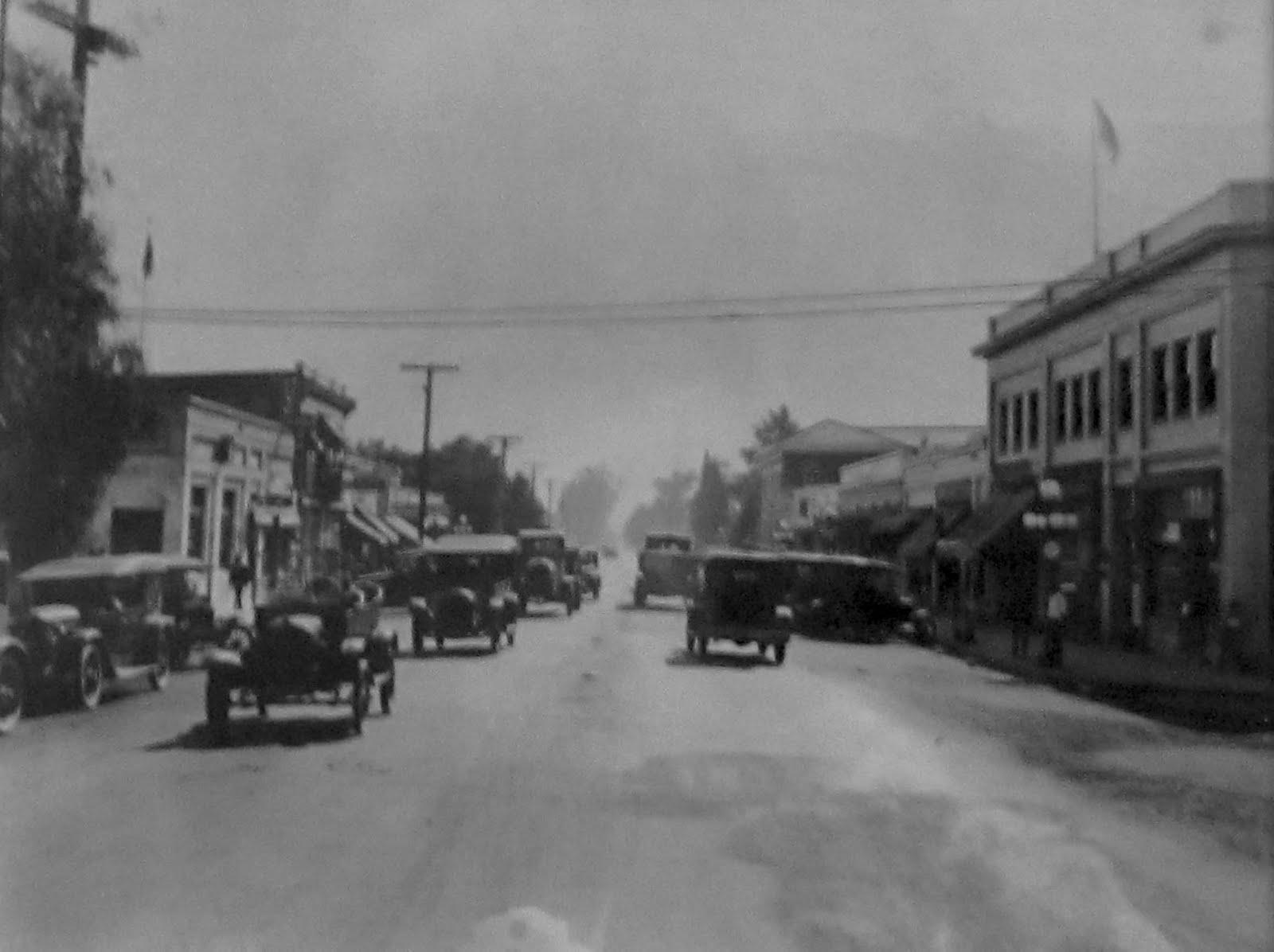 historic lankershim avenue in