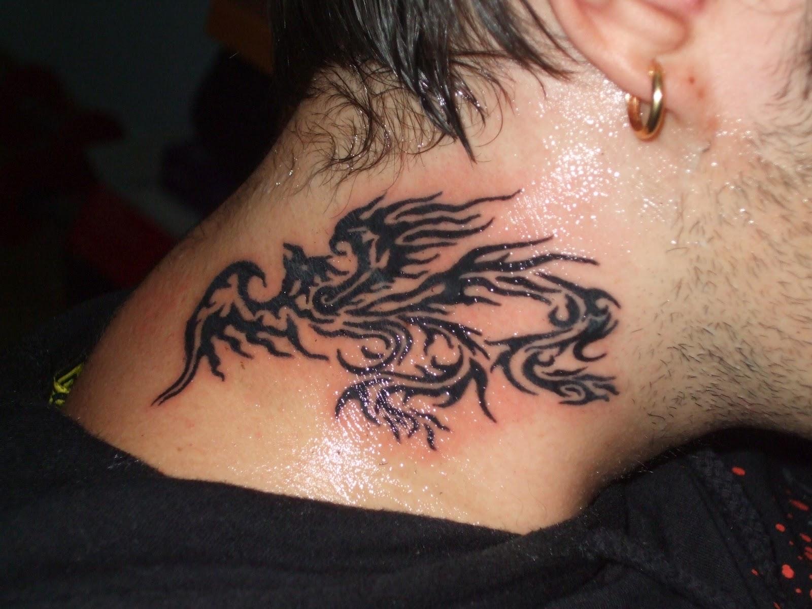 Tatuajes Grandes En El Cuello en el cuello ~ the dark design