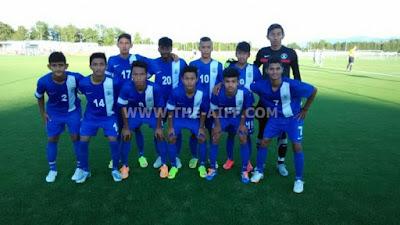 India U-16 defeated AKA Tirol U-16