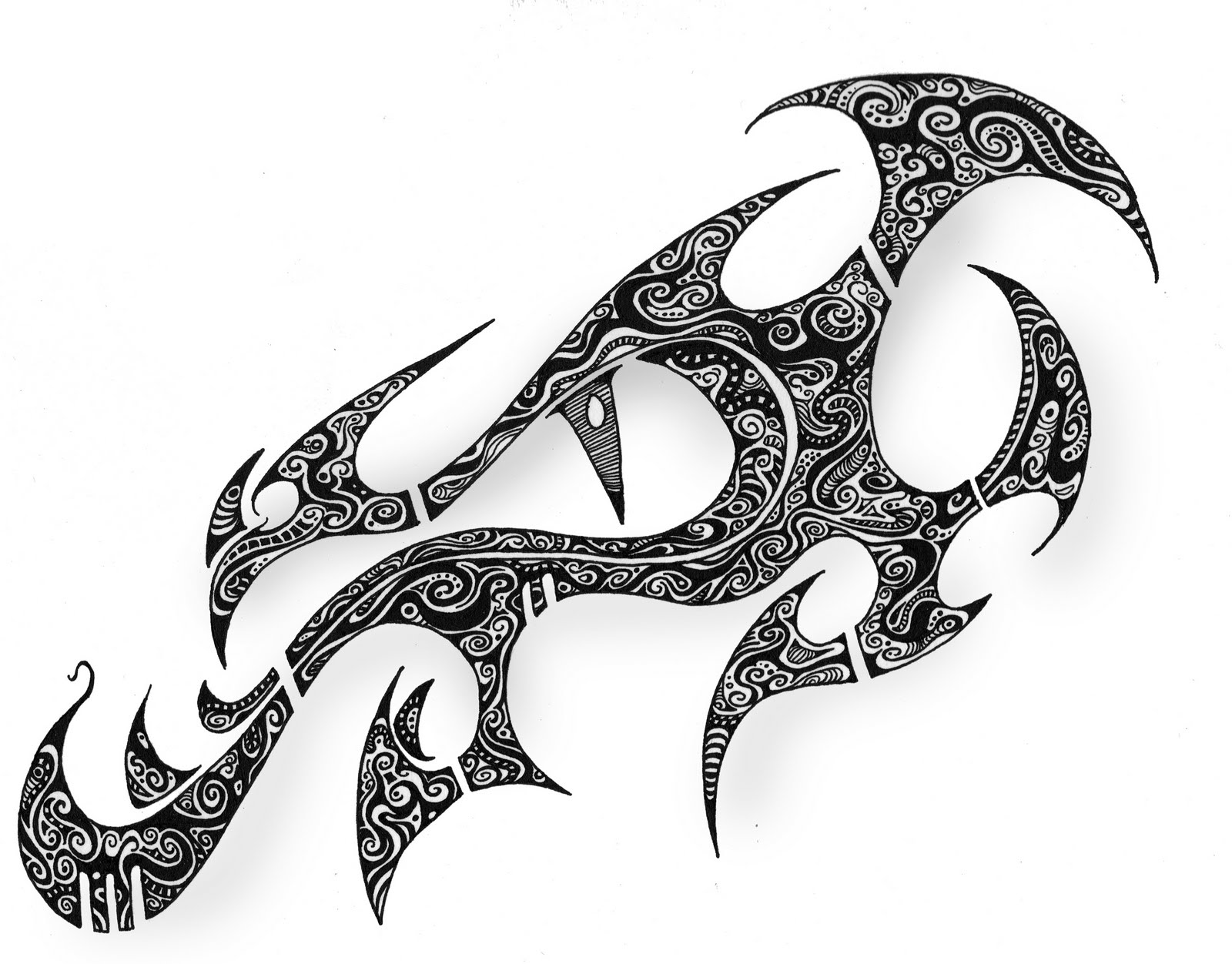8 awesome armband tattoo designs tattoo design ideas for Dragon eye tattoo