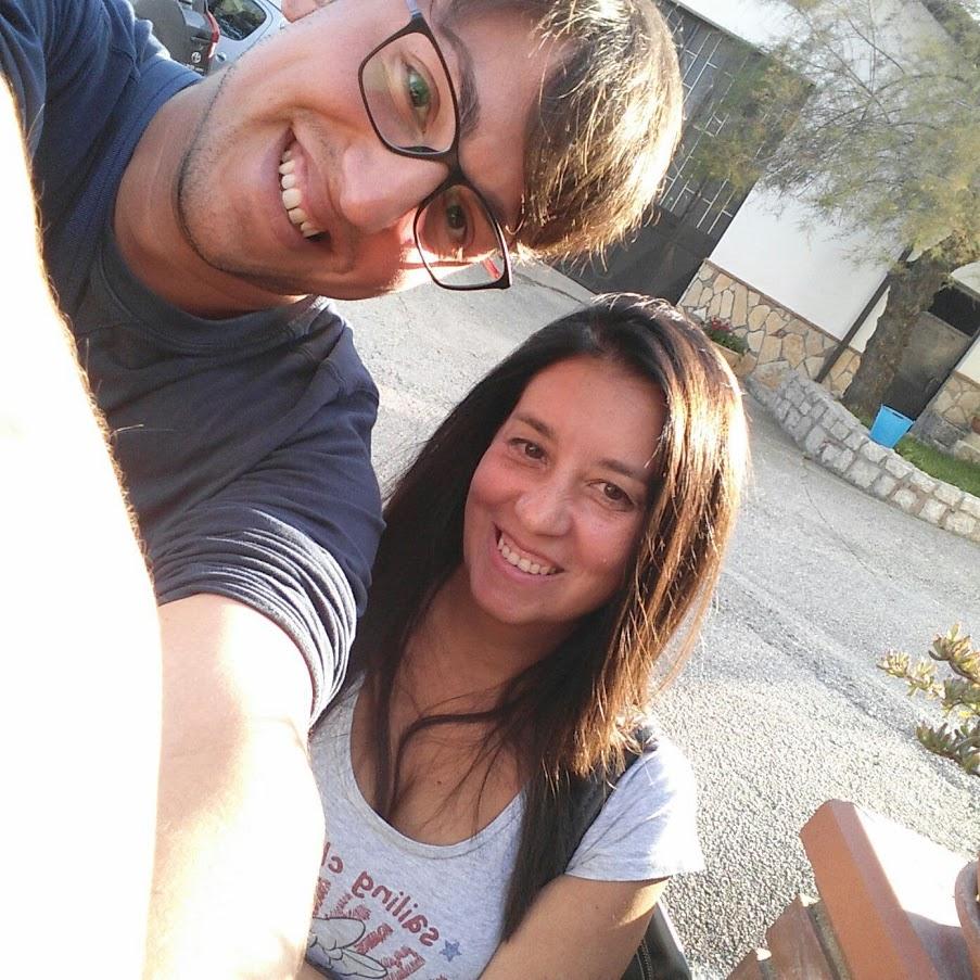 Un selfie col mio amicissimo Mauro