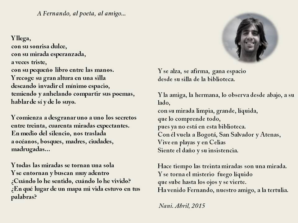 Poema a Fernando Valverde