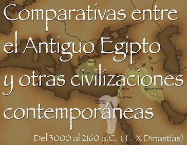 9 - COMPARATIVAS ENTRE EL ANTIGUO EGIPTO Y OTRAS CIVILIZACIONES CONTEMPORÄNEAS