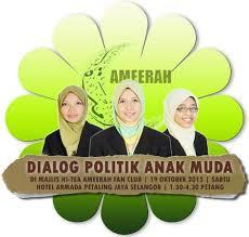 DIALOG POLITIK ANAK MUDA - HI-TEA AMEERAH FAN CLUB