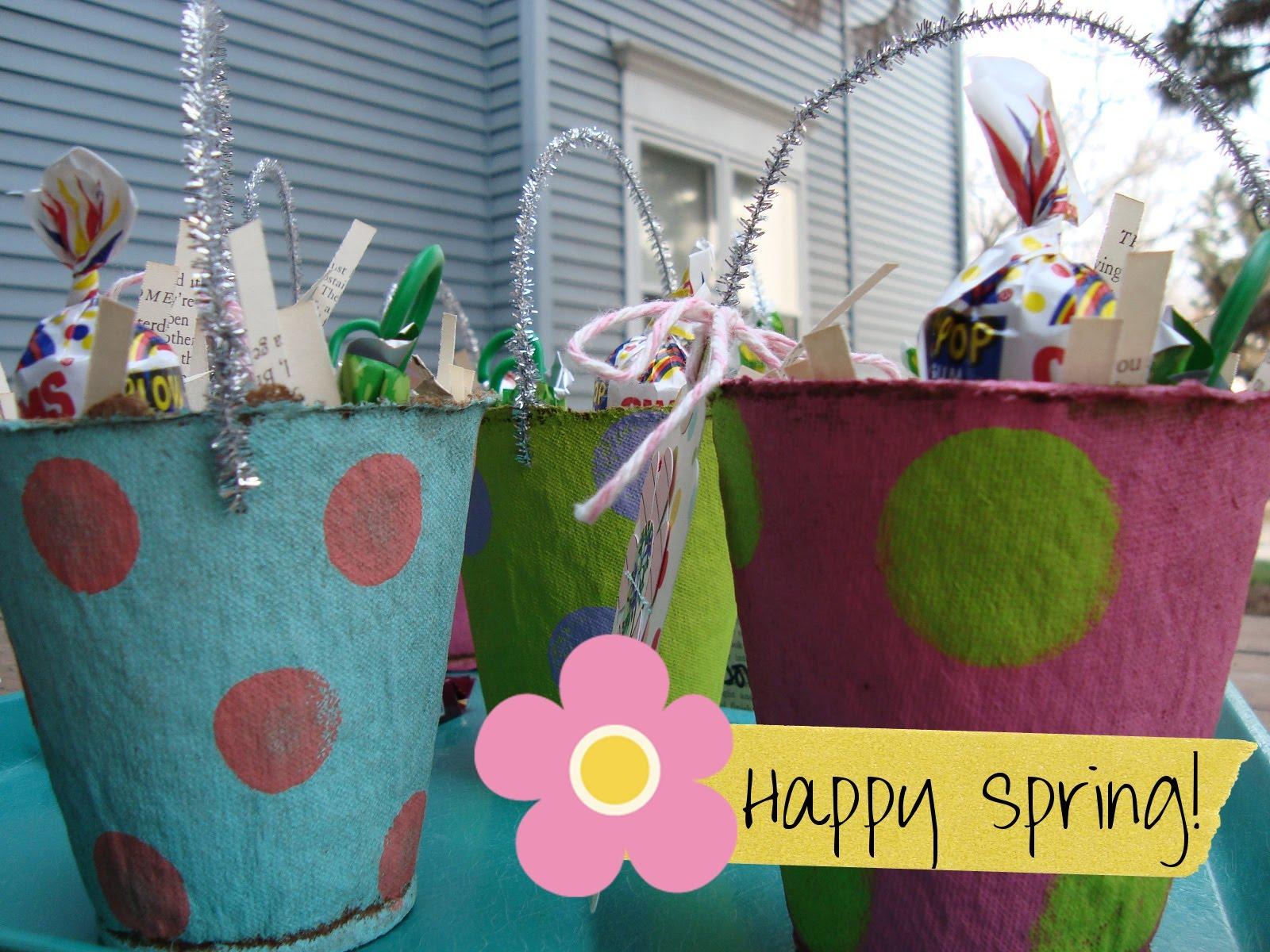 My artsy fartsy life handmade easter baskets - Custom made easter baskets ...