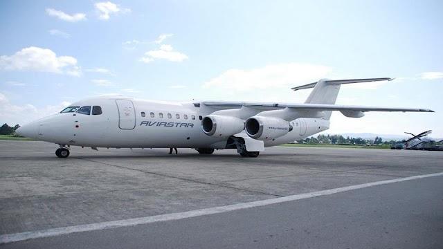 Pesawat AviaStar Hilang Kontak