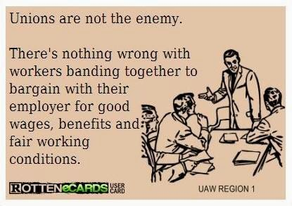 Unions Not the Enemy