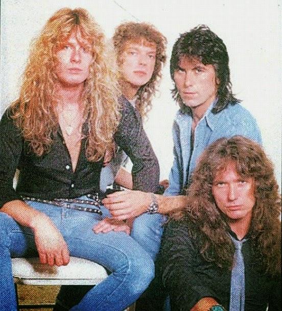 Formación de grabación de Whitesnake-1987