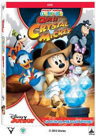 descargar La Casa de Mickey Mouse: For The Crystal Mickey – DVDRIP LATINO